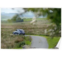 The Three Castles Welsh Trial 2014 - Volvo PV544 Poster