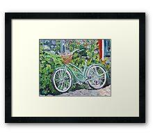 Summer Pedals Framed Print