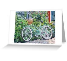 Summer Pedals Greeting Card
