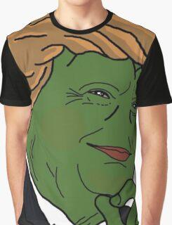 Trump Pepe Graphic T-Shirt