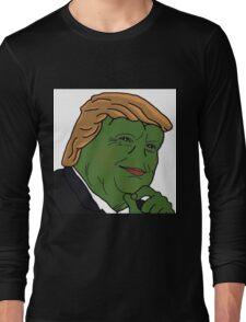 Trump Pepe Long Sleeve T-Shirt