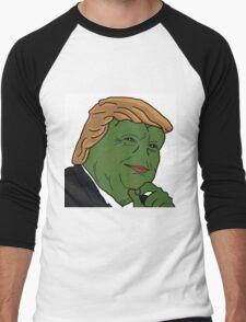 Trump Pepe Men's Baseball ¾ T-Shirt