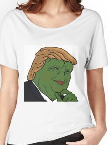 Trump Pepe Women's Relaxed Fit T-Shirt