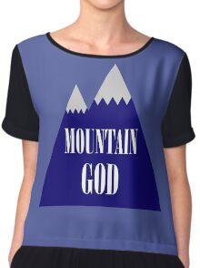 Mountain God Chiffon Top