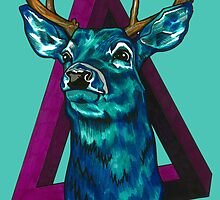 Stag  by ctinamoore