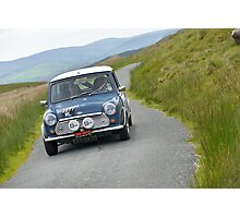 The Three Castles Welsh Trial 2014 - Mini Cooper S Photographic Print