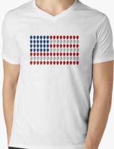 Mac Miller Flag Mens V-Neck T-Shirt