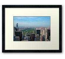 Central Park 01 Framed Print
