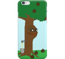 Pepe Piss and Poop tree iPhone Case/Skin