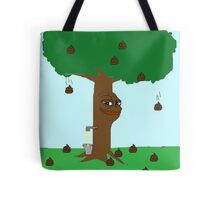 Pepe Piss and Poop tree Tote Bag