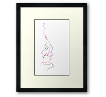 Person within a person Framed Print