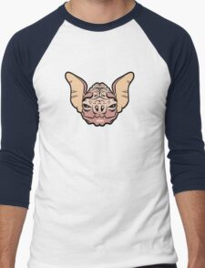 Wrinkle-Faced Bat Men's Baseball ¾ T-Shirt