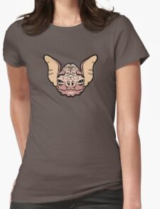 Wrinkle-Faced Bat Womens Fitted T-Shirt