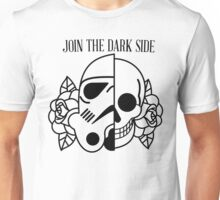 mix: helmet and a skull from mexico  Unisex T-Shirt