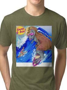 Surfin' USA . . . 68 Million Years Ago Tri-blend T-Shirt