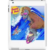 Surfin' USA . . . 68 Million Years Ago iPad Case/Skin