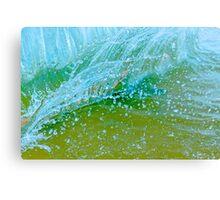 Water blue Canvas Print