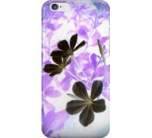 flower negi iPhone Case/Skin