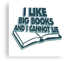 Big books Canvas Print