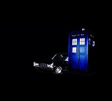 The TARDIS & Impala by babybluebox