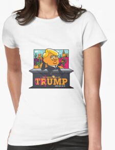 The Great Fall of Chump Womens Fitted T-Shirt