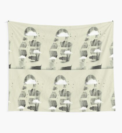 Facet Sky Wall Tapestry
