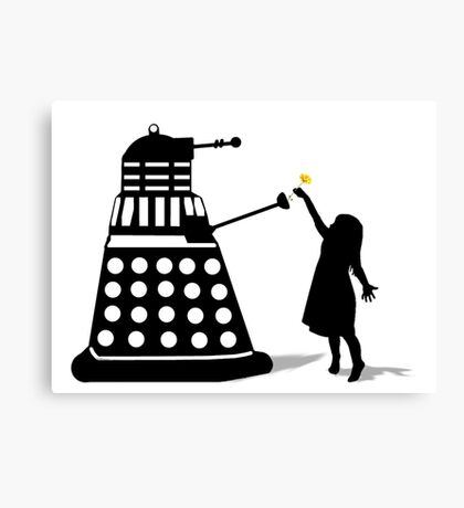 Dalek Stasis Theory Canvas Print