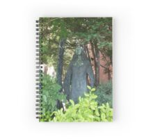 The Statue Spiral Notebook