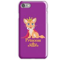 Princess Kitten iPhone Case/Skin