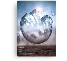 Surreal Mountain  Canvas Print