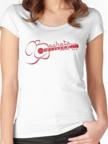 Bachata - Is For Lovers Guitar  Women's Fitted Scoop T-Shirt