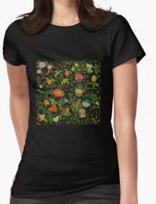 Forest Creatures Womens Fitted T-Shirt