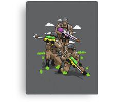 Soak Squad Six Canvas Print