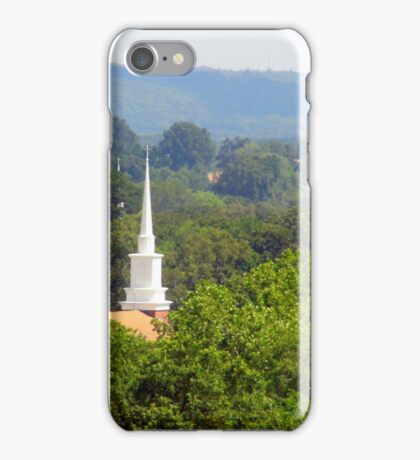 Churches In The Distance iPhone Case/Skin
