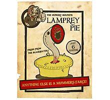 Lamprey Pie Photographic Print