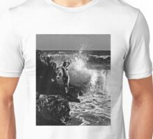 Standing on the Rocks Unisex T-Shirt