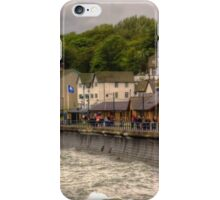 A Grey Day in Filey iPhone Case/Skin