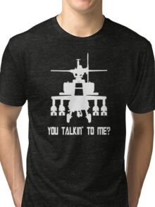Attach Helicopter  Tri-blend T-Shirt