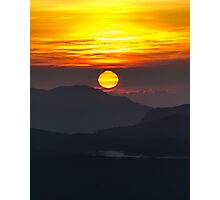 Adams Dawn, Sri Lanka Photographic Print