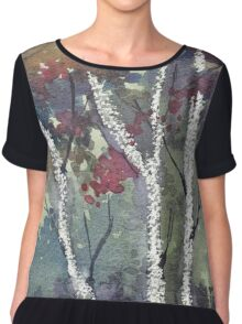 The dark forest  Chiffon Top