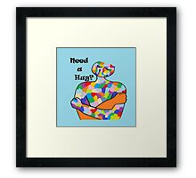 Need a Hug? Framed Print