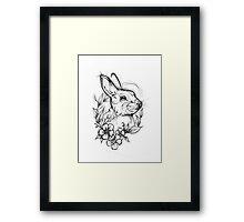 Forest Rabbit Framed Print