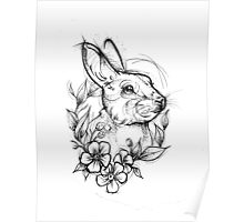 Forest Rabbit Poster