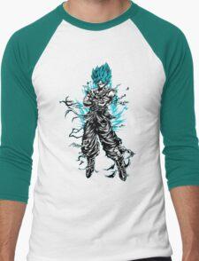 Super Saiyan Goku God Shirt - RB00207 Men's Baseball ¾ T-Shirt