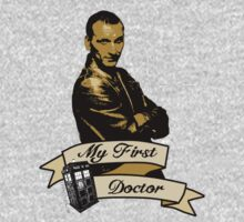 My first Doctor (Who) Ninth 9th Christopher Eccleston by dubukat