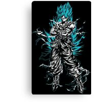 Super Saiyan Goku God Shirt - RB00207 Canvas Print