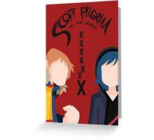 Scott Pilgrim - Seven Evil Exes Greeting Card