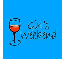 Girls Weekend Photographic Print