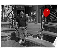 The Boy with the Red Balloon.  Poster