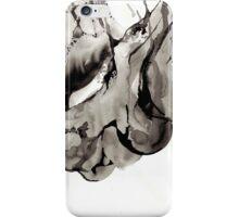 Bone Ink Drawing iPhone Case/Skin